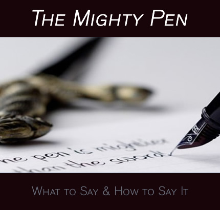 the Mighty Pen